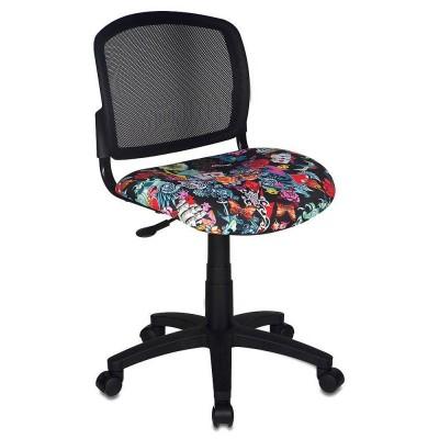 Компьютерное кресло Бюрократ CH-296NX TATTOO / Спинка сетка черный