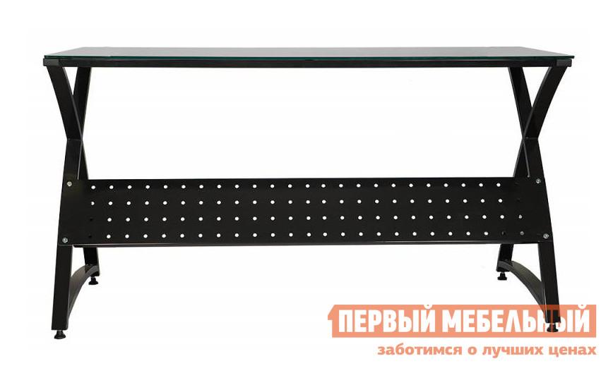 Компьютерный стол Бюрократ Omega-137/black Черное стекло от Купистол