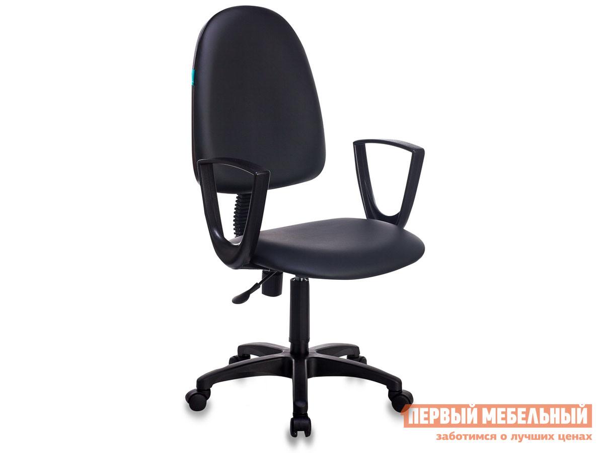 Офисное кресло  CH-1300N Or-16 иск. кожа черная.