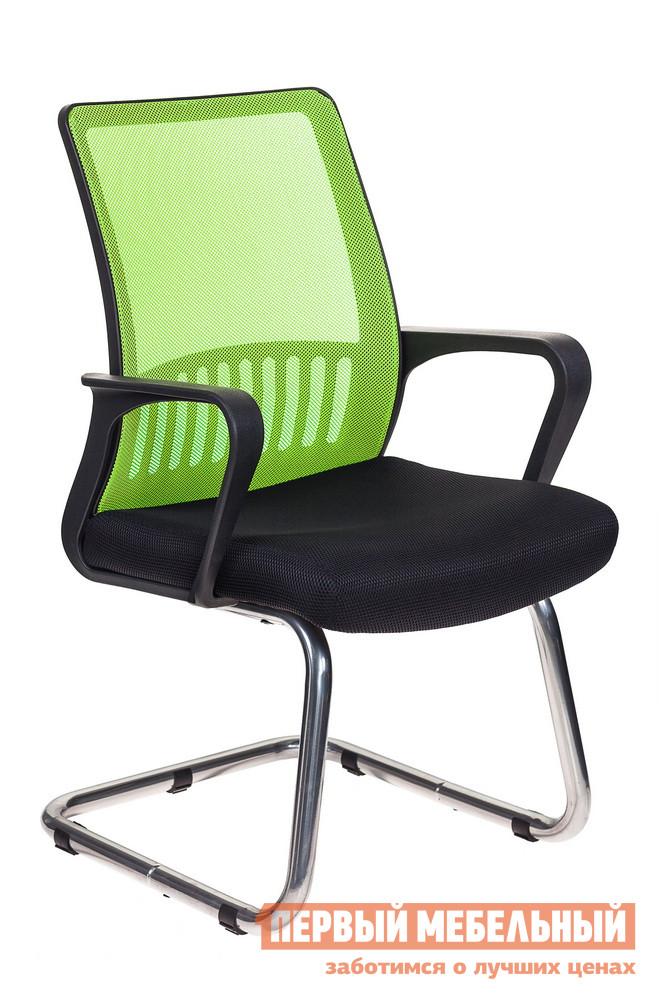 Офисный стул  MC-209 Сетка салатовый / черный TW-11