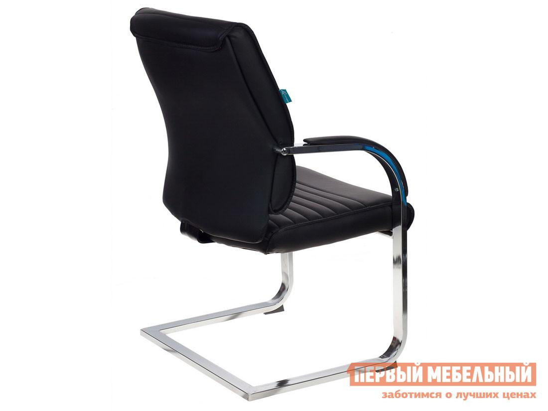 Офисный стул  T-8010-LOW-V Иск. кожа черная