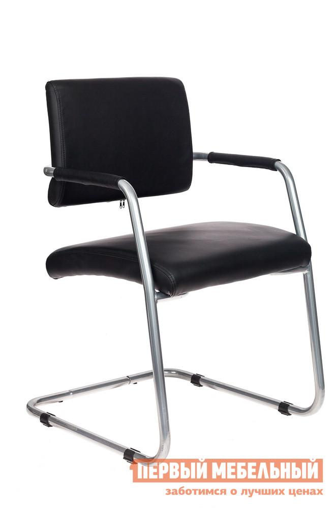 Офисный стул  CH-271-V/SL/OR Or-16 иск. кожа черная