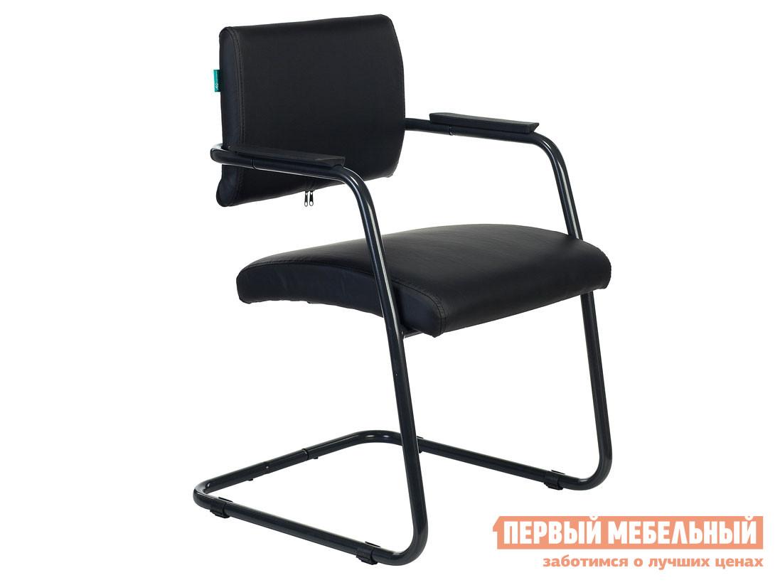 Офисный стул  Кресло CH-271N Or-16 иск. кожа черная / Черный хром