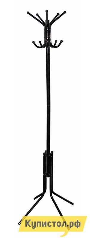 Напольная вешалка Бюрократ CR-002 ЧерныйНапольные вешалки<br>Габаритные размеры ВхШхГ 1800x600x600 мм. Классическая напольная вешалка отлично будет смотреться как в прихожей дома, так и в приемной офиса.  Модель устанавливается на четыре гнутых ножки, что обеспечивает ей устойчивость. Вешалка оснащена большим количеством крючков для одежды.  Диаметр основания — 600 мм. Изделие производится из металла.<br><br>Цвет: Черный<br>Высота мм: 1800<br>Ширина мм: 600<br>Глубина мм: 600<br>Кол-во упаковок: 1<br>Форма поставки: В разобранном виде<br>Срок гарантии: 12 месяцев<br>Материал: Металл