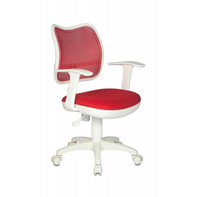 Детское компьютерное кресло Бюрократ CH-W797 TW-97N Красный