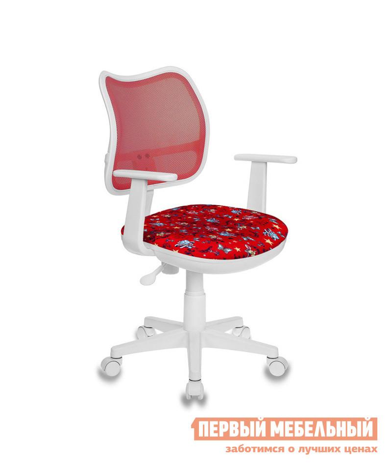 Детское компьютерное кресло Бюрократ CH-W797 ANCHOR-RD красный/якоря