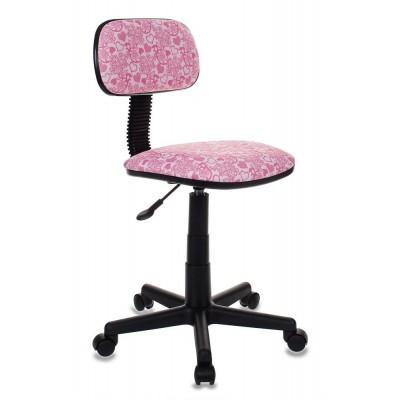 Компьютерное кресло Бюрократ CH-201NX HEARTS-PK розовый сердца