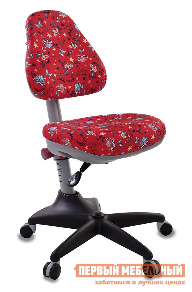 Детское компьютерное кресло Бюрократ KD-2 ANCHOR-RD красный/якоря
