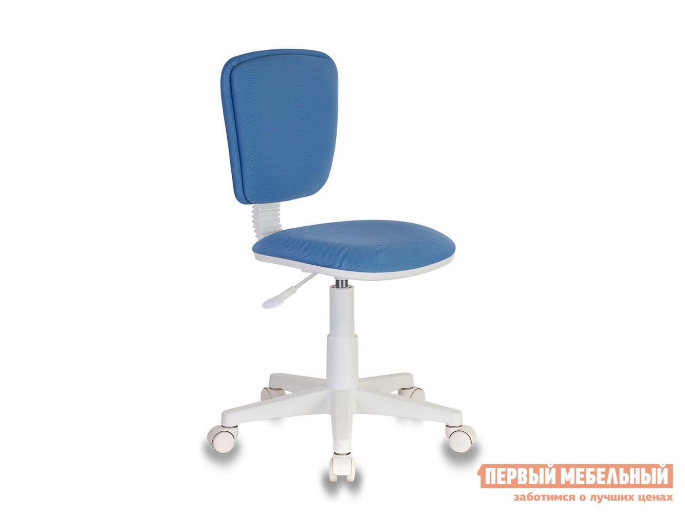 Детское компьютерное кресло  Кресло детское Бюрократ CH-W204NX 26-24 Голубой — Кресло детское Бюрократ CH-W204NX 26-24 Голубой