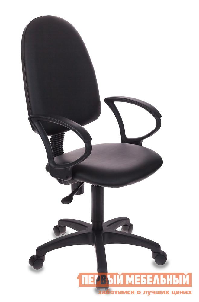 Кресло для офиса Бюрократ CH-1300 Черная кожа (CH-1300/OR-16 черный Or-16) от Купистол