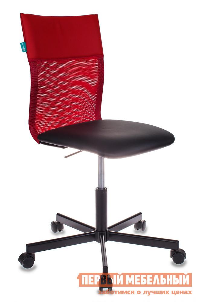 Офисное кресло  CH-1399 Сетка красная / Искусственная кожа красная / чёрная