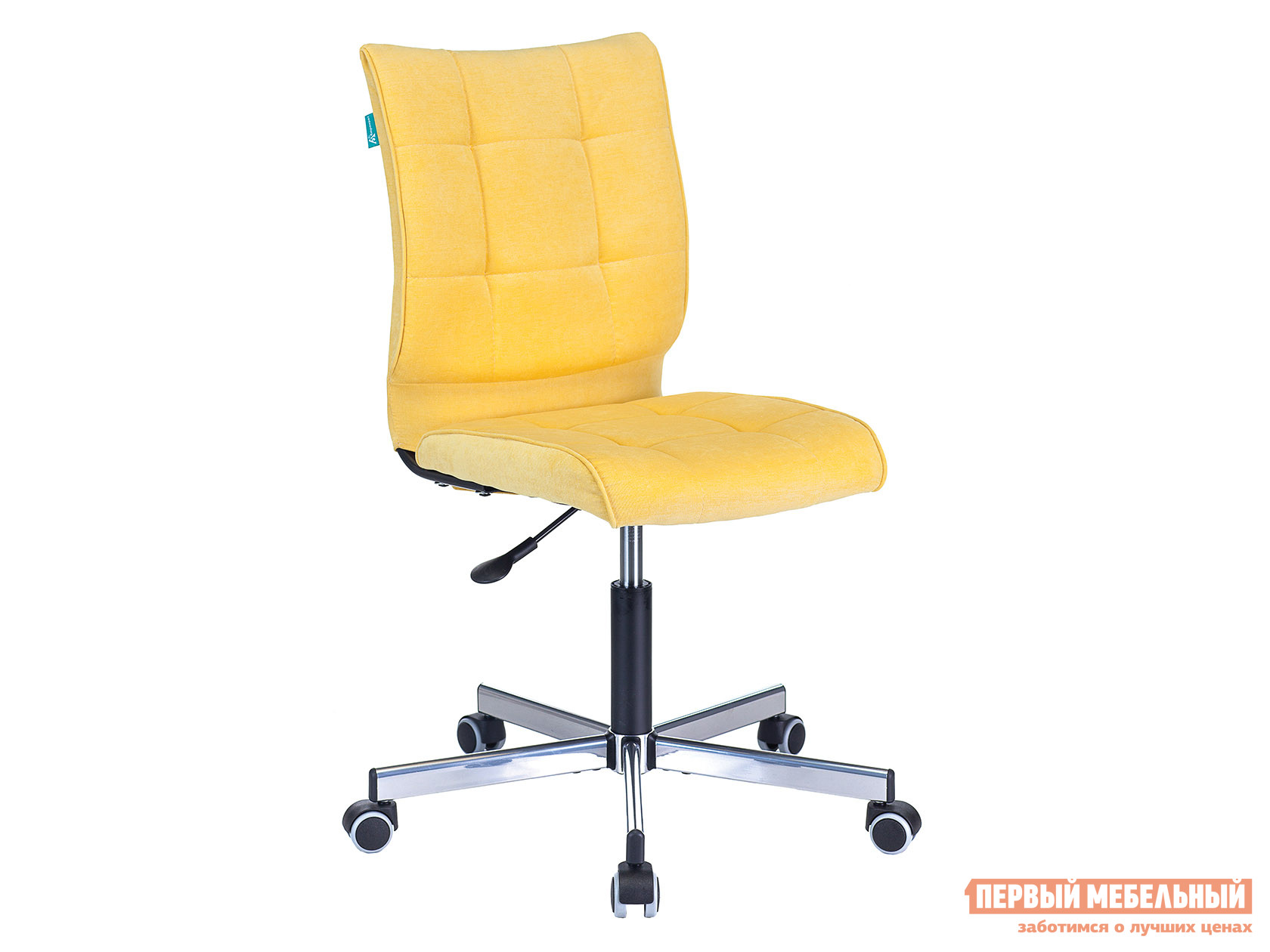 Офисное кресло CH-330M Желтый, вельвет фото