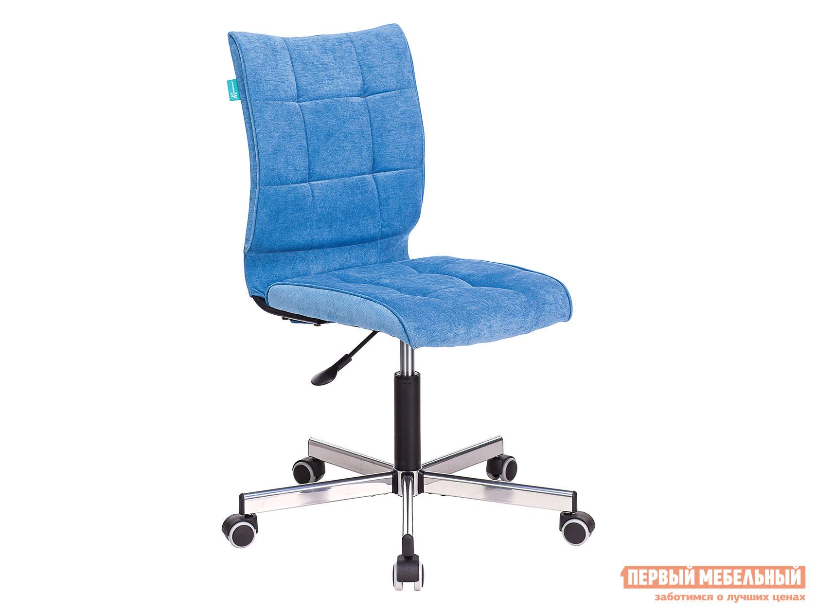 Офисное кресло  CH-330M Голубой, вельвет Бюрократ 109350