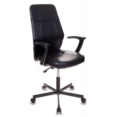 Офисное кресло Бюрократ CH-605 Иск. кожа черная