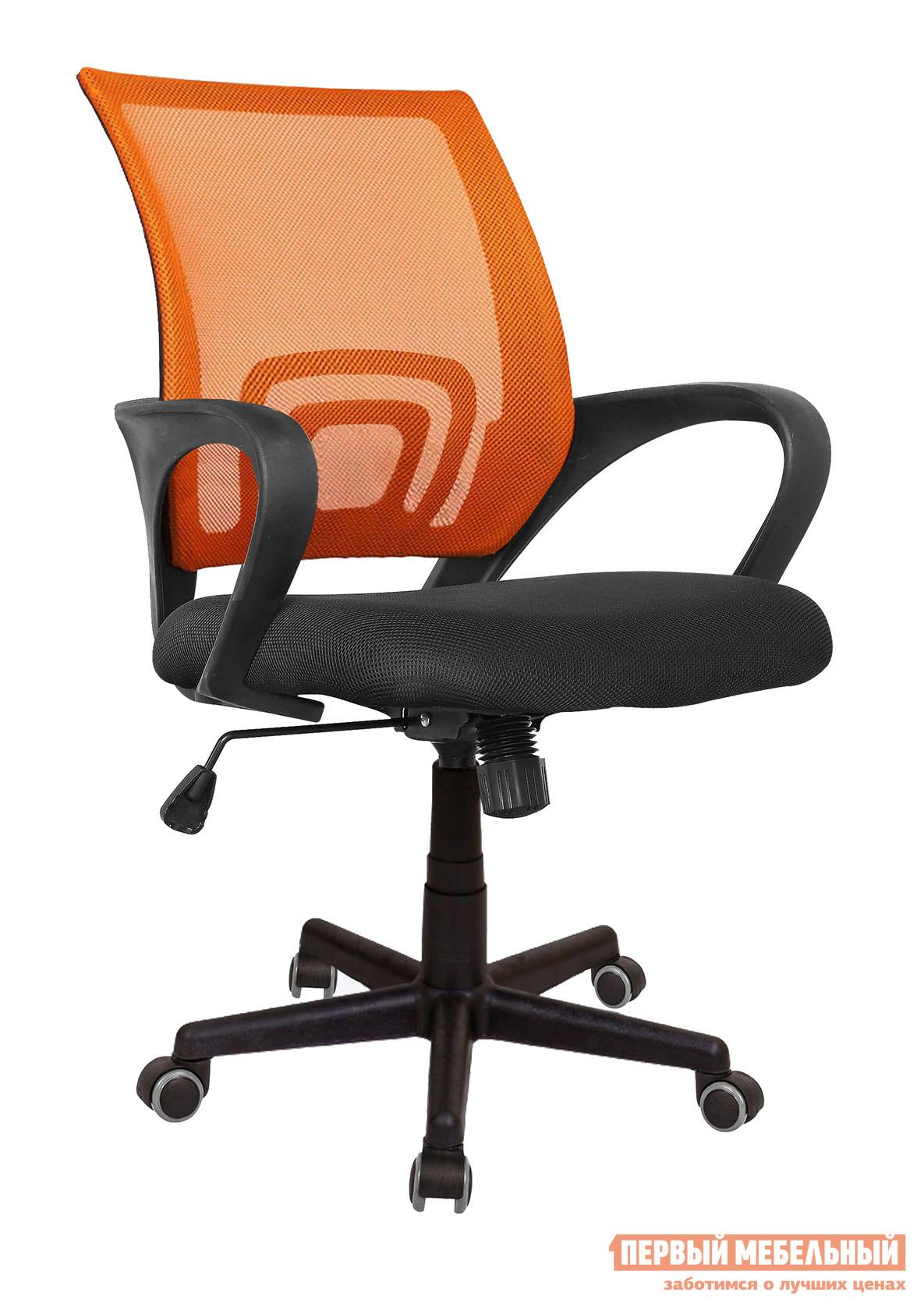 Офисное кресло Бюрократ CH-695 Сетка Оранжевый TW-38-3 / Черный TW-11