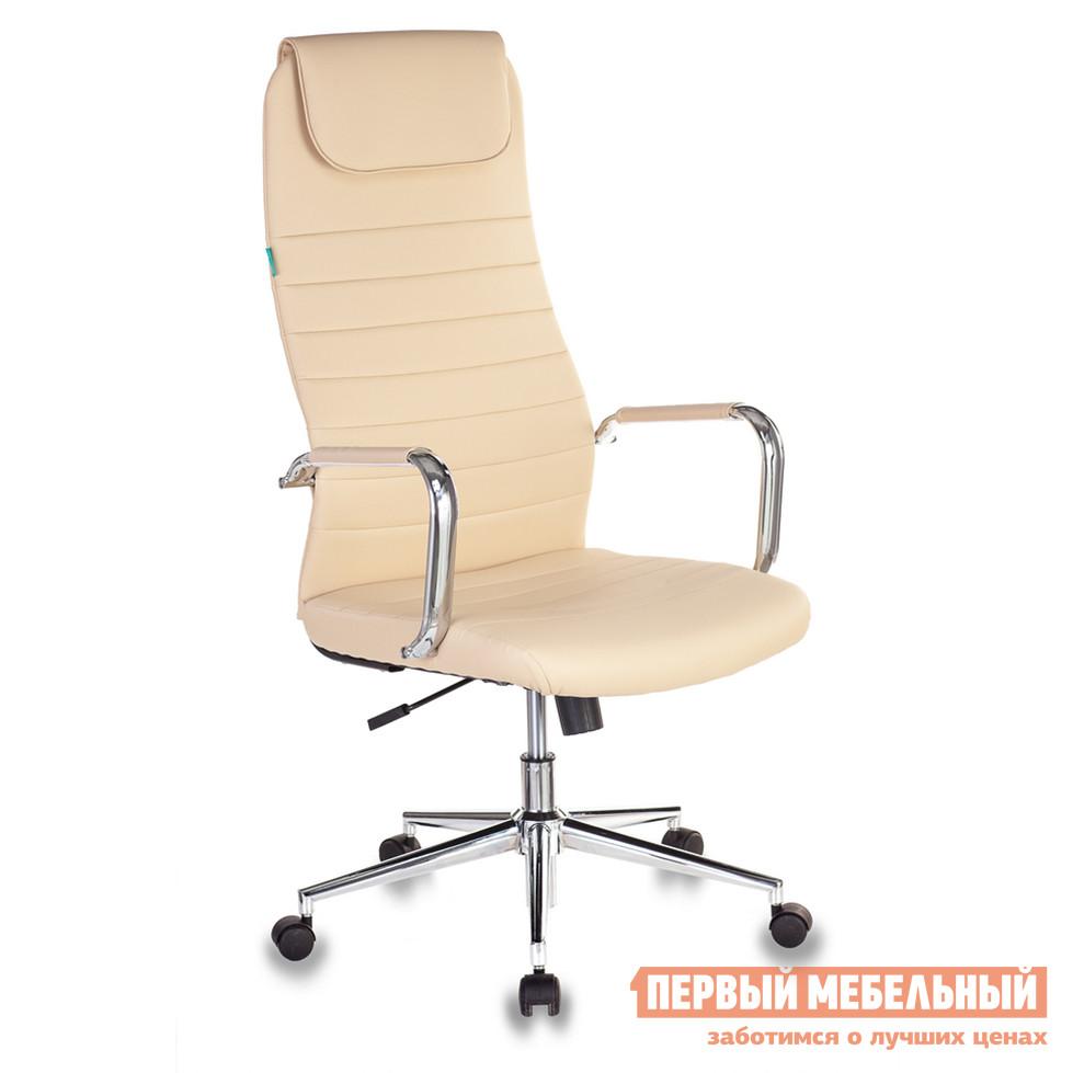 Кресло руководителя  KB-9ECO/OR-12 Иск. кожа бежевая