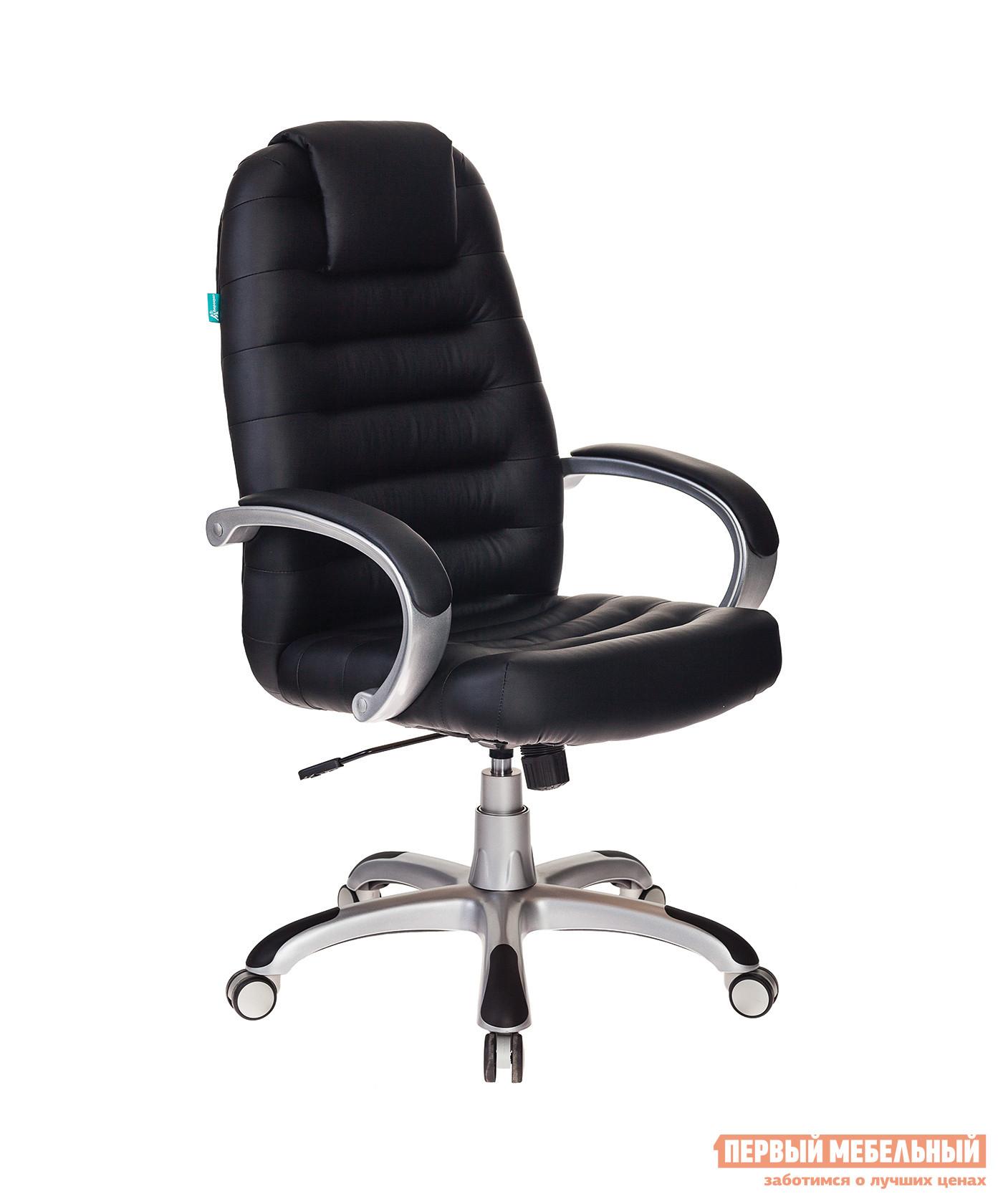 Кресло руководителя  Кресло руководителя T-9903S Black / иск. кожа черный