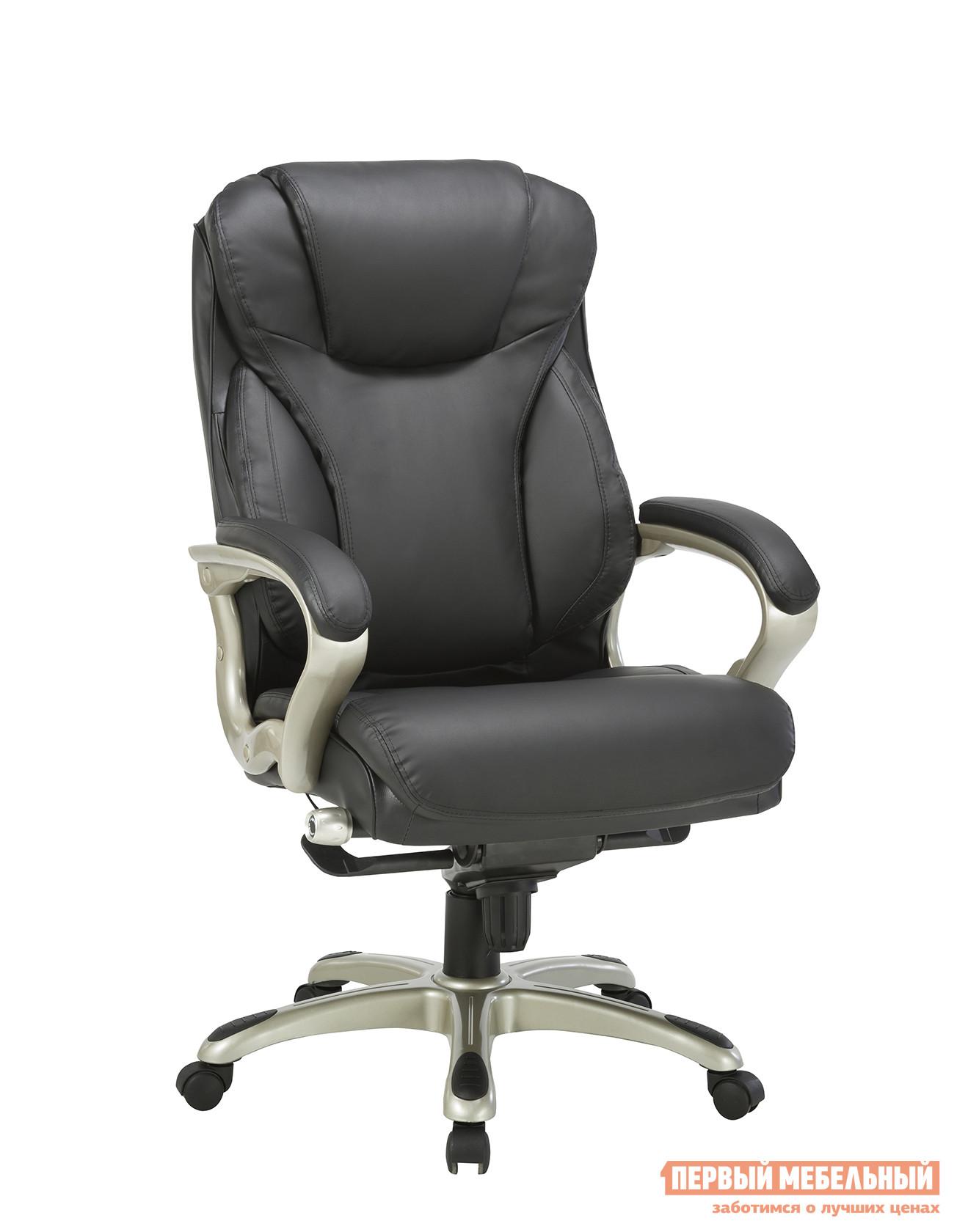 Кресло руководителя Бюрократ T-9916/BROWN / BLACK кресло для руководителя бюрократ t 9999 brown