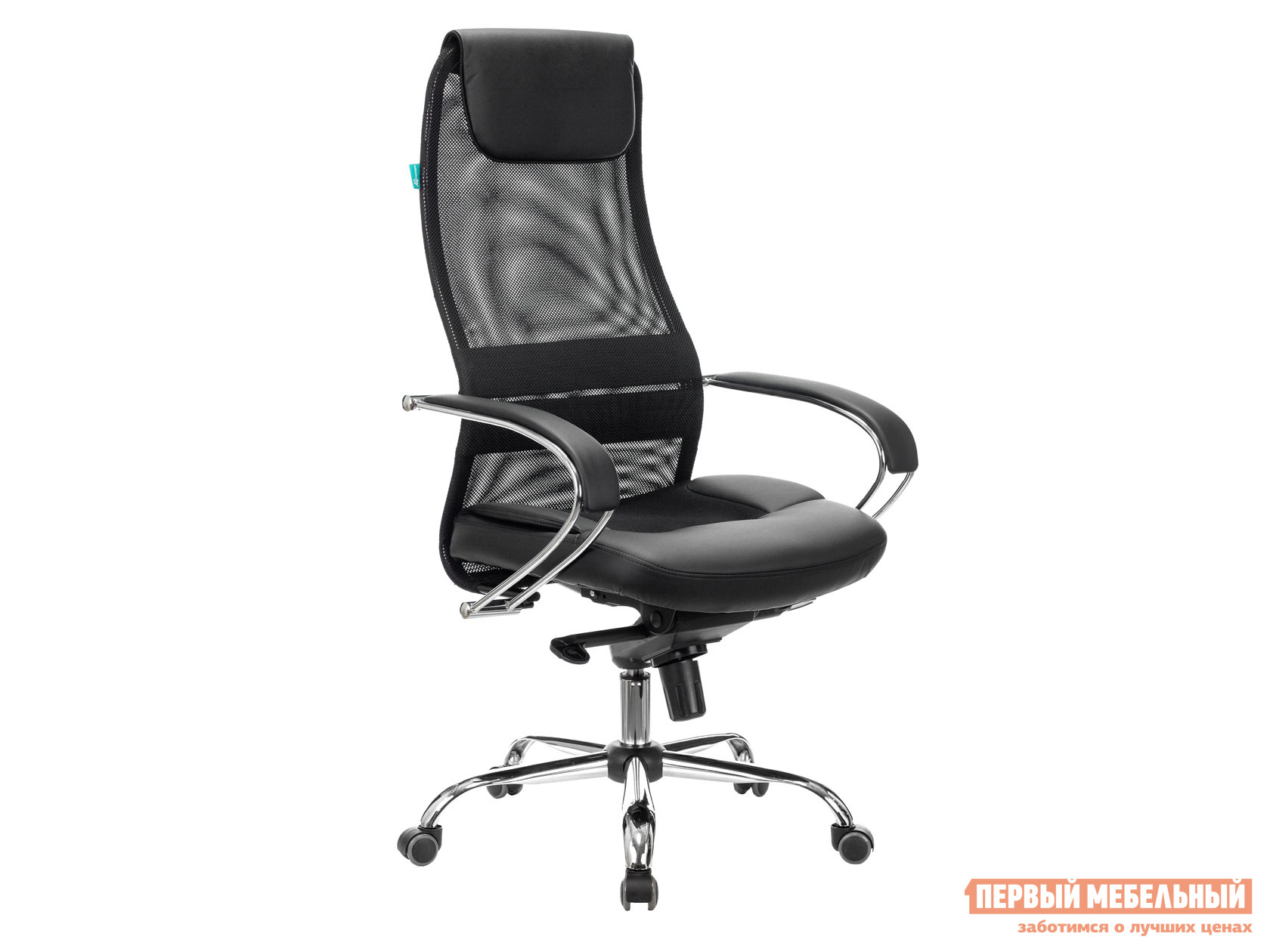 Кресло руководителя  CH-609SL TW-11 Черный / TW-01 Черный — CH-609SL TW-11 Черный / TW-01 Черный