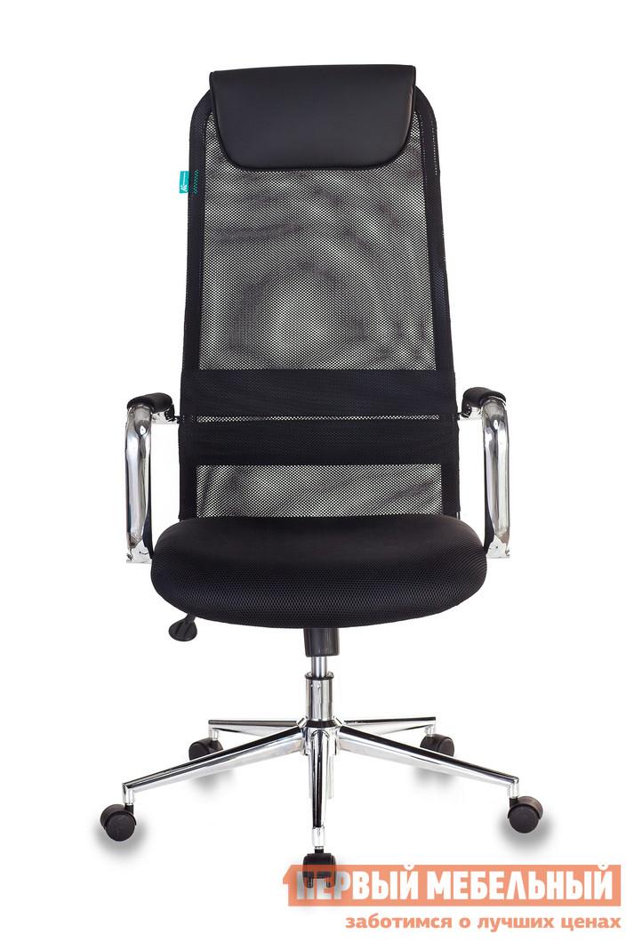 Кресло руководителя  KB-9 Сетка черный TW-01 / Черный TW-11