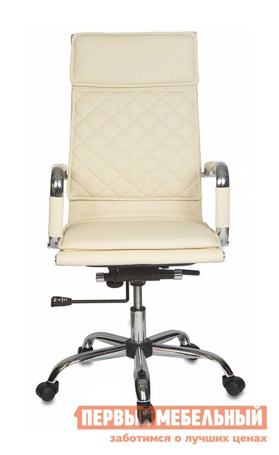 Кресло руководителя Бюрократ CH-991 Иск. кожа слоновая кость