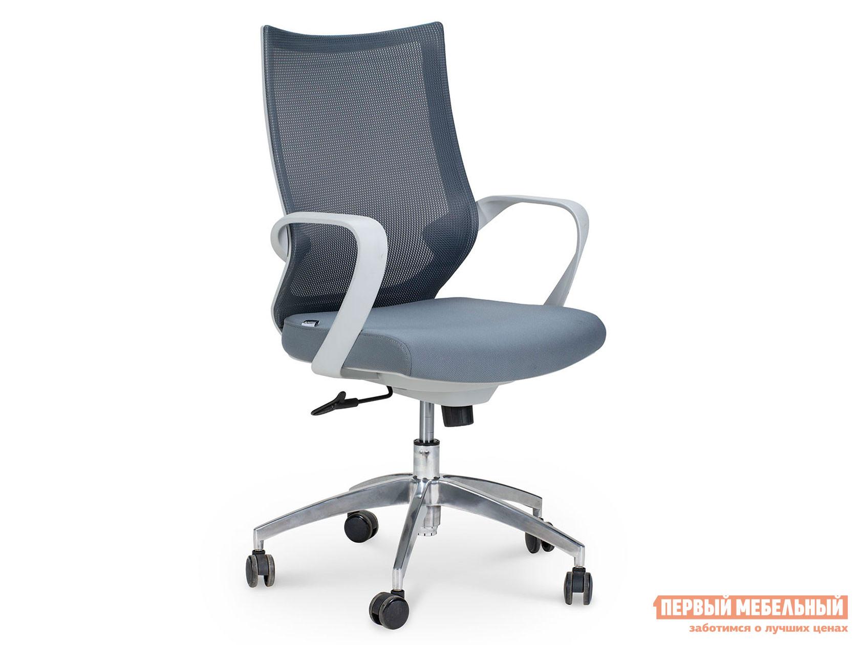 Офисное кресло  Кресло CH-193B Серый, сетка / Серый, ткань
