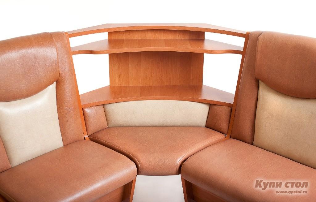 Кухонный уголок КУ Лидер 5 П+ Стол Лидер 5 + Табуреты Лидер 2 КупиСтол.Ru 17050.000