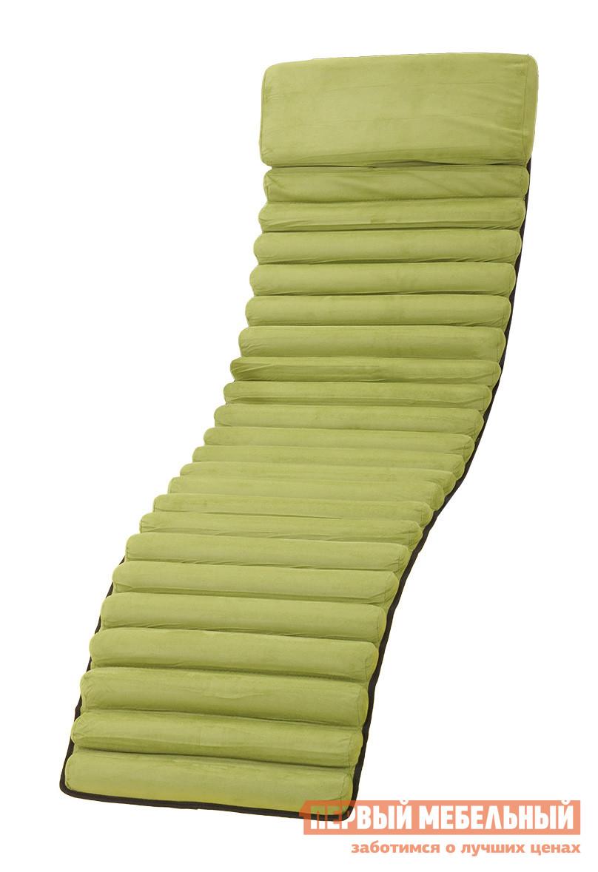 Матрас для шезлонга ОГОГО Обстановочка! Mat1-green Зеленый текстиленАксессуары для шезлонга<br>Габаритные размеры ВхШхГ x570x1700 мм. Удобный аксессуар для более комфортного отдыха на шезлонге Матрес 1 от костромского производителя ОГОГО Обстановочка! Матрасик имеет приятное на ощупь покрытие, которое подарит вам дополнительное удобство.  А также его поверхность имеет рифленую текстуру, что добавляет массажный эффект. Обивка матраса выполнена из полиэстера, в качестве наполнителя используется мягкий пенополиуретан.<br><br>Цвет: Зеленый<br>Ширина мм: 570<br>Глубина мм: 1700<br>Кол-во упаковок: 1<br>Форма поставки: В собранном виде<br>Срок гарантии: 2 года