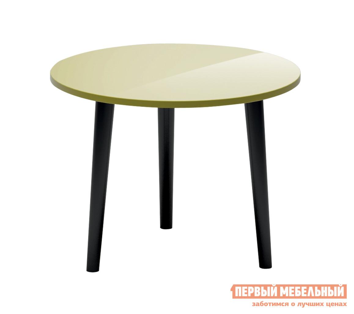 Журнальный столик  Rond Оливковый глянец