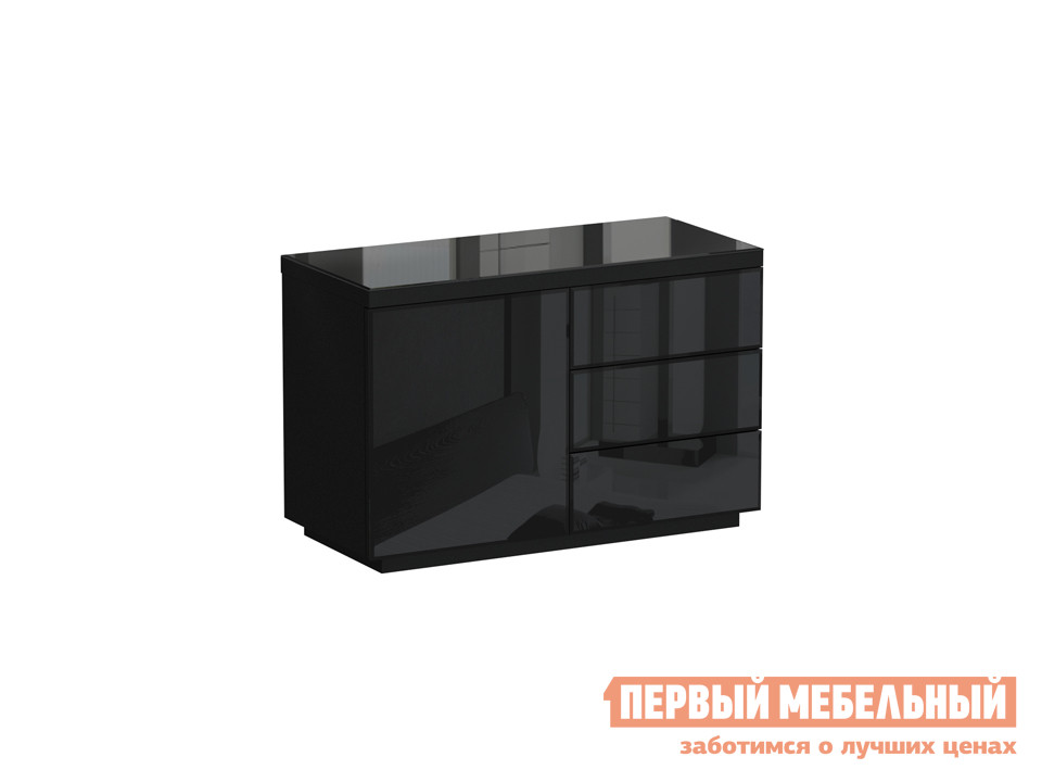 Комод  Кристалл КрСт 2 Черный