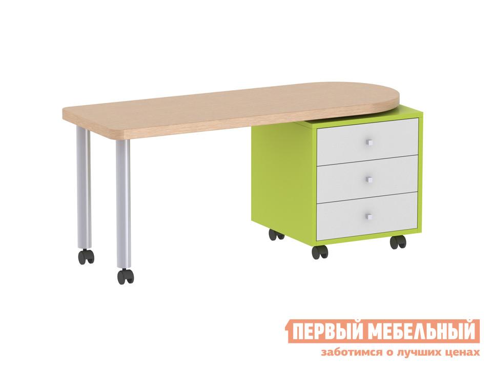 Письменный стол детский ОГОГО Обстановочка! Пиноккио П-СП Лайм