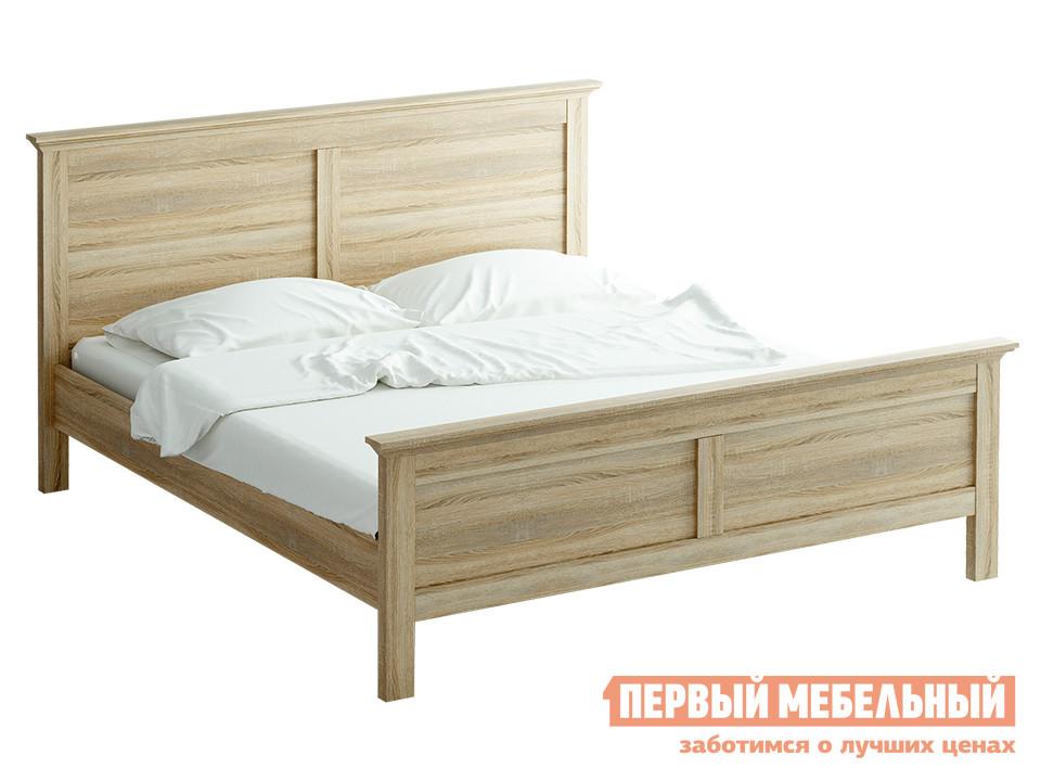 Кровать ОГОГО Обстановочка! reinadub-k1600-1800 Дуб Сонома, 1600 Х 2000 мм, Без матраса от Купистол