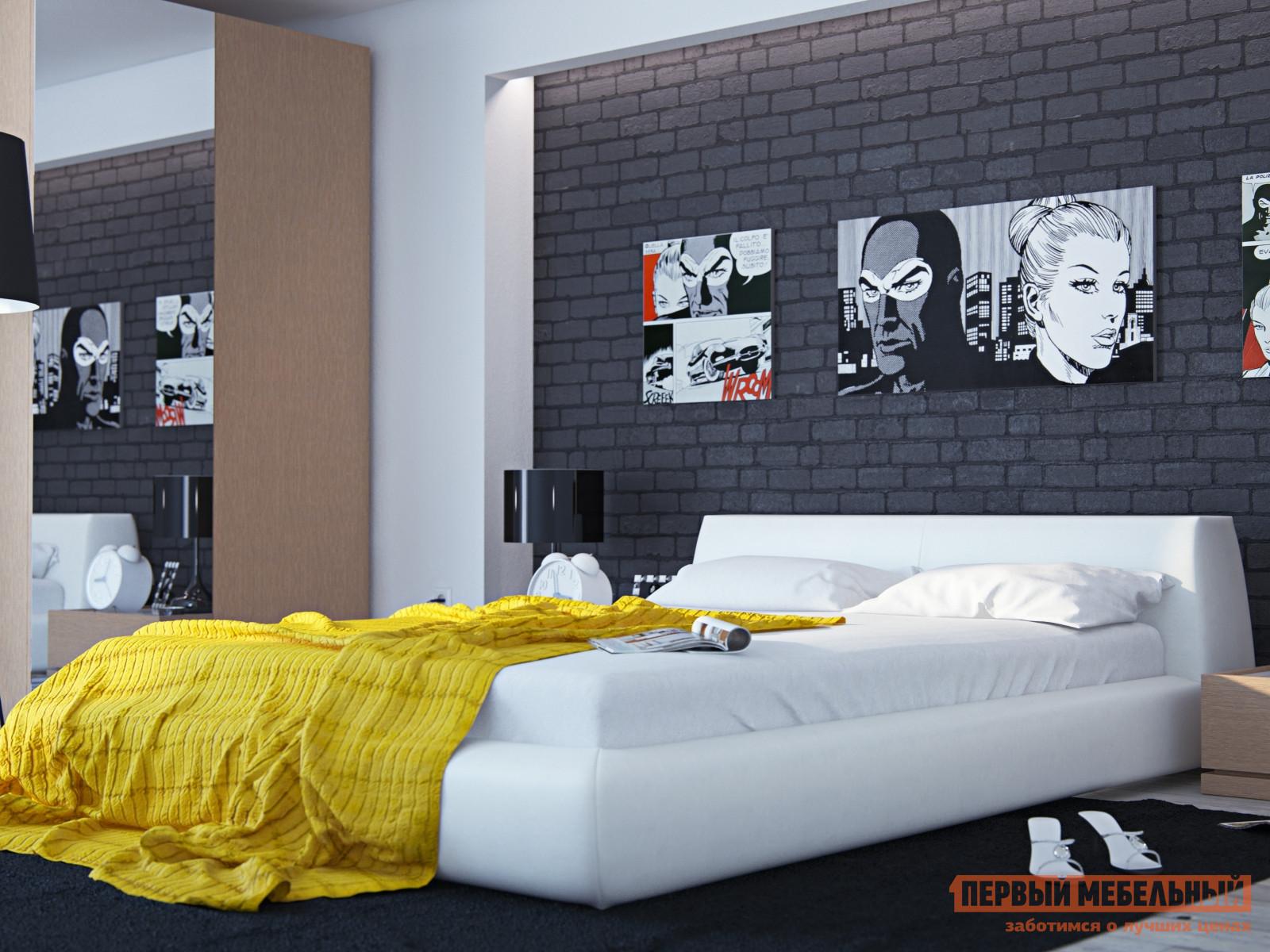 Двуспальная кровать ОГОГО Обстановочка! Vatta (ВКД-M 1600) 13922 3922