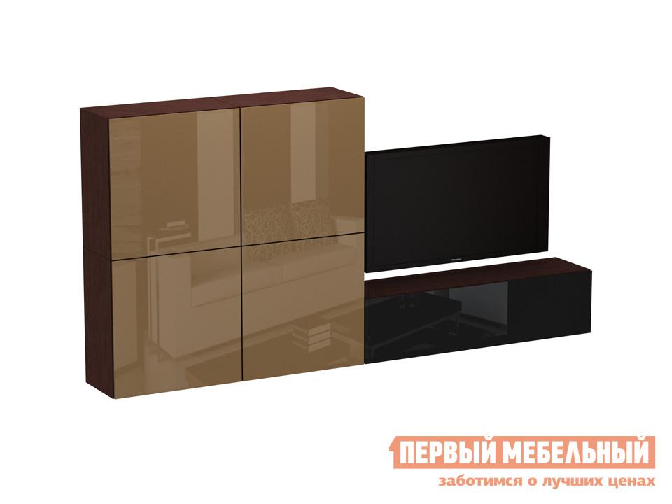 Стенка ОГОГО Обстановочка! kompCubo-8 (КВ7 (4 шт.) +КСН14) стенка модерн 4