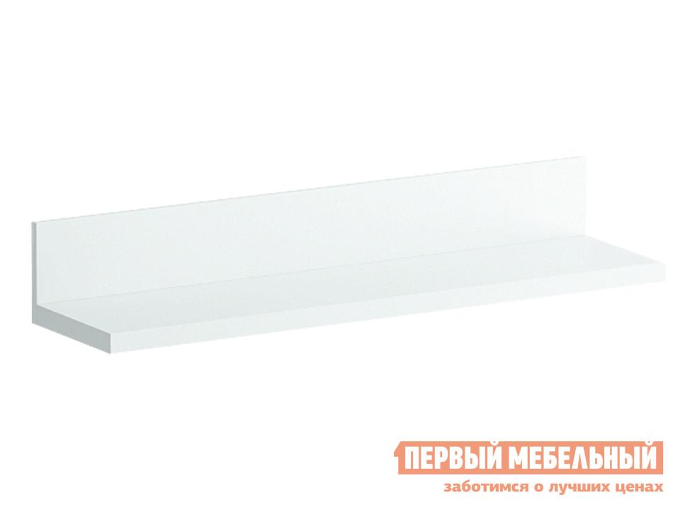 Настенная полка ОГОГО Обстановочка! Reina-pm-sm Сонома Белый