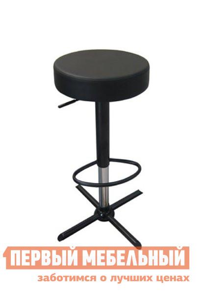 Барный стул ОГОГО Обстановочка! OSCAR Экокожа чернаяБарные стулья<br>Габаритные размеры ВхШхГ 630 / 840x410x410 мм. Стильный стул прекрасно впишется как в домашнюю обстановку, так и в интерьер кафе, бара или ресторана.  Мягкое сиденье из экокожи имеет диаметр 360 мм и регулируется по высоте при помощи газлифта. Минимальная высота стула составляет 630 мм от пола, максимальная — 840 мм.  Модель оборудована удобной подставкой для ног. Максимальная нагрузка на стул — 120 кг. Ножка изготовлена из окрашенного металла.<br><br>Цвет: Черный<br>Высота мм: 630 / 840<br>Ширина мм: 410<br>Глубина мм: 410<br>Форма поставки: В разобранном виде<br>Срок гарантии: 2 года<br>Тип: Для кухни<br>Тип: Регулируемые по высоте<br>Тип: Высота сиденья 600-700мм<br>Тип: Высота сиденья от 800мм<br>Тип: Высота сиденья 701-800мм<br>Материал: Металл<br>Материал: Искусственная кожа<br>Форма: Круглые<br>С мягким сиденьем: Да<br>С одной ножкой: Да<br>Без спинки: Да