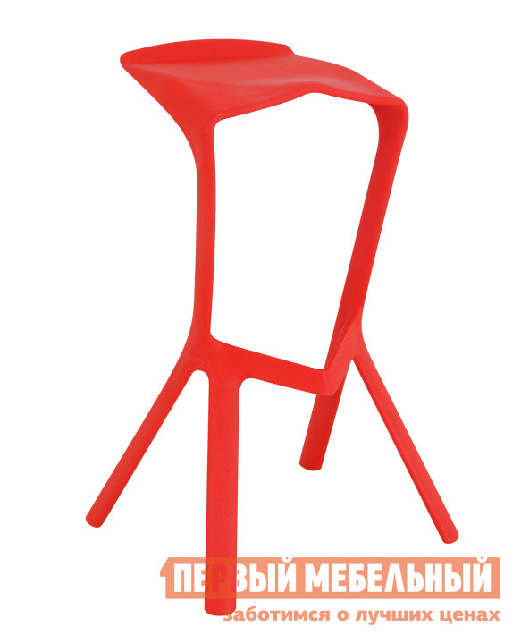 Барный стул ОГОГО Обстановочка! Reddy КрасныйБарные стулья<br>Габаритные размеры ВхШхГ 810x500x425 мм. Такая модель барного стула подойдет тем, кто предпочитает креативный подход в оформлении помещений.  Незаурядная форма каркаса  точно привлечет всеобщее внимание. Стул выполнен из полипропилена. Максимальная нагрузка на изделие составляет 120 кг.<br><br>Цвет: Красный<br>Цвет: Красный<br>Высота мм: 810<br>Ширина мм: 500<br>Глубина мм: 425<br>Кол-во упаковок: 1<br>Форма поставки: В собранном виде<br>Срок гарантии: 2 года<br>Тип: Для кухни, Нерегулируемые, Высота сиденья от 800мм<br>Материал: Пластиковые<br>Форма: Квадратные<br>Особенности: С жестким сиденьем, С четырьмя ножками, Без спинки