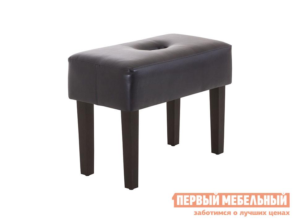Банкетка ОГОГО Обстановочка! Handy Кож.зам. чёрный Манго 305Банкетки<br>Габаритные размеры ВхШхГ 390x510x260 мм. Мягкая небольшая банкетка.  Прекрасно подойдет в качестве места для сидения в прихожей или в роли подставки для ног рядом с креслом, где вы сможете отдохнуть после рабочего дня. В сиденье сделано отверстие для легкого и удобного перемещения банкетки. Ножки выполнены из массива сосны, обивка — экокожа.  Цвет ножек — черный. Максимальная нагрузка составляет 100 кг.<br><br>Цвет: Кож.зам. чёрный Манго 305<br>Цвет: Черный<br>Высота мм: 390<br>Ширина мм: 510<br>Глубина мм: 260<br>Кол-во упаковок: 1<br>Форма поставки: В разобранном виде<br>Срок гарантии: 2 года<br>Тип: Скамья<br>Назначение: Для кухни, Для спальни, В прихожую, Для офиса, Для гостиной, Для ног, Для туалетного столика<br>Материал: из искусственной кожи<br>Форма: Прямоугольные<br>Размер: Узкие, Одноместные<br>Высота: Низкие<br>Особенности: С мягким сиденьем, На ножках, Без спинки<br>Стиль: Современный, В стиле ретро