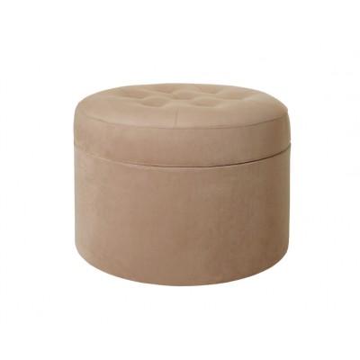 Пуфик ОГОГО Обстановочка! Barrel большой Ткань Ankor 06 Капучино