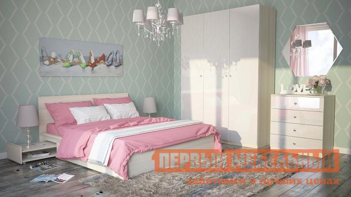 Комплект мебели для спальни ОГОГО Обстановочка! Уно К1 спальный гарнитур трия саванна к1