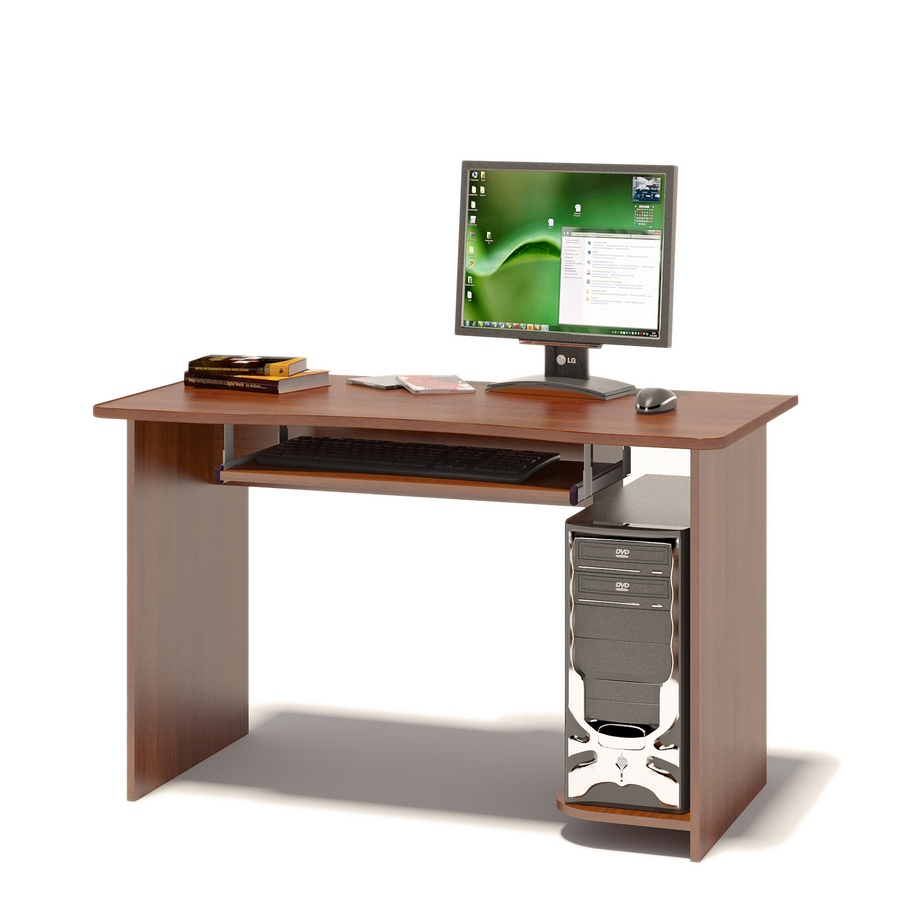 Компьютерный стол Сокол КСТ-04.1 Испанский орех