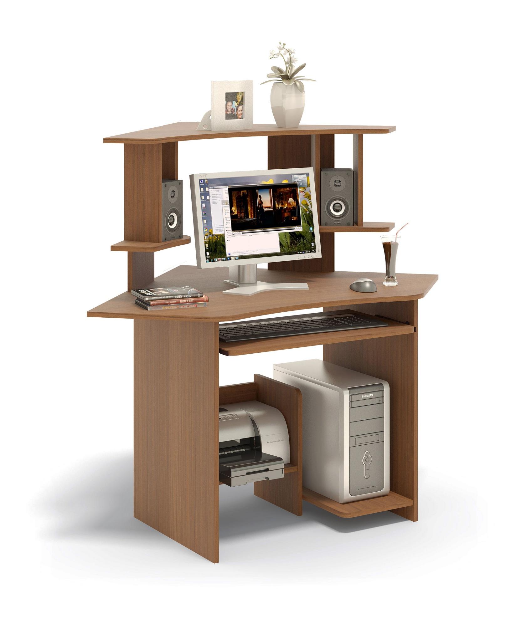 Компьютерный стол Сокол КСТ-02.1+КН-02 Ноче-экко от Купистол