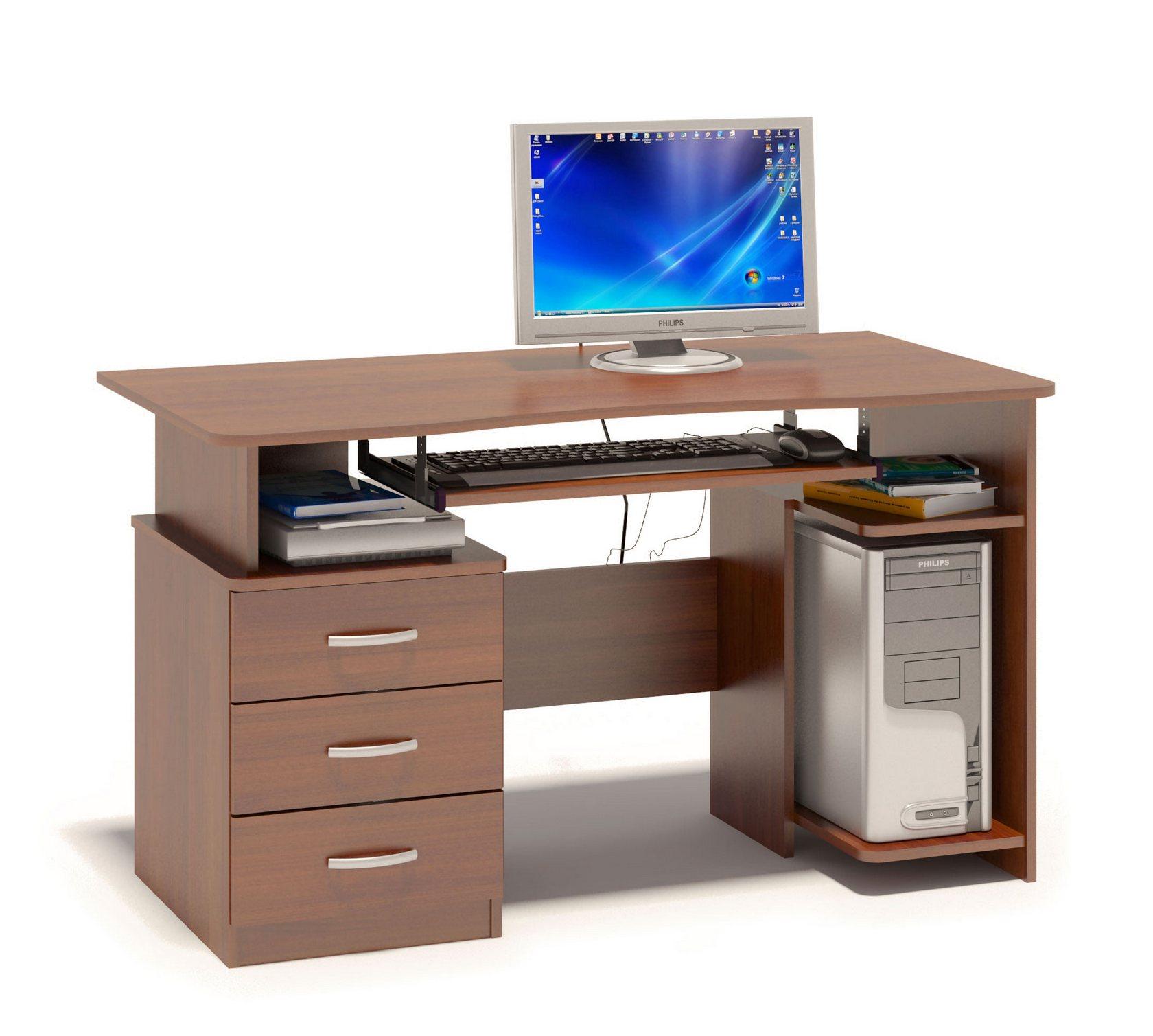 Компьютерный стол Сокол КСТ-08.1 Испанский орех