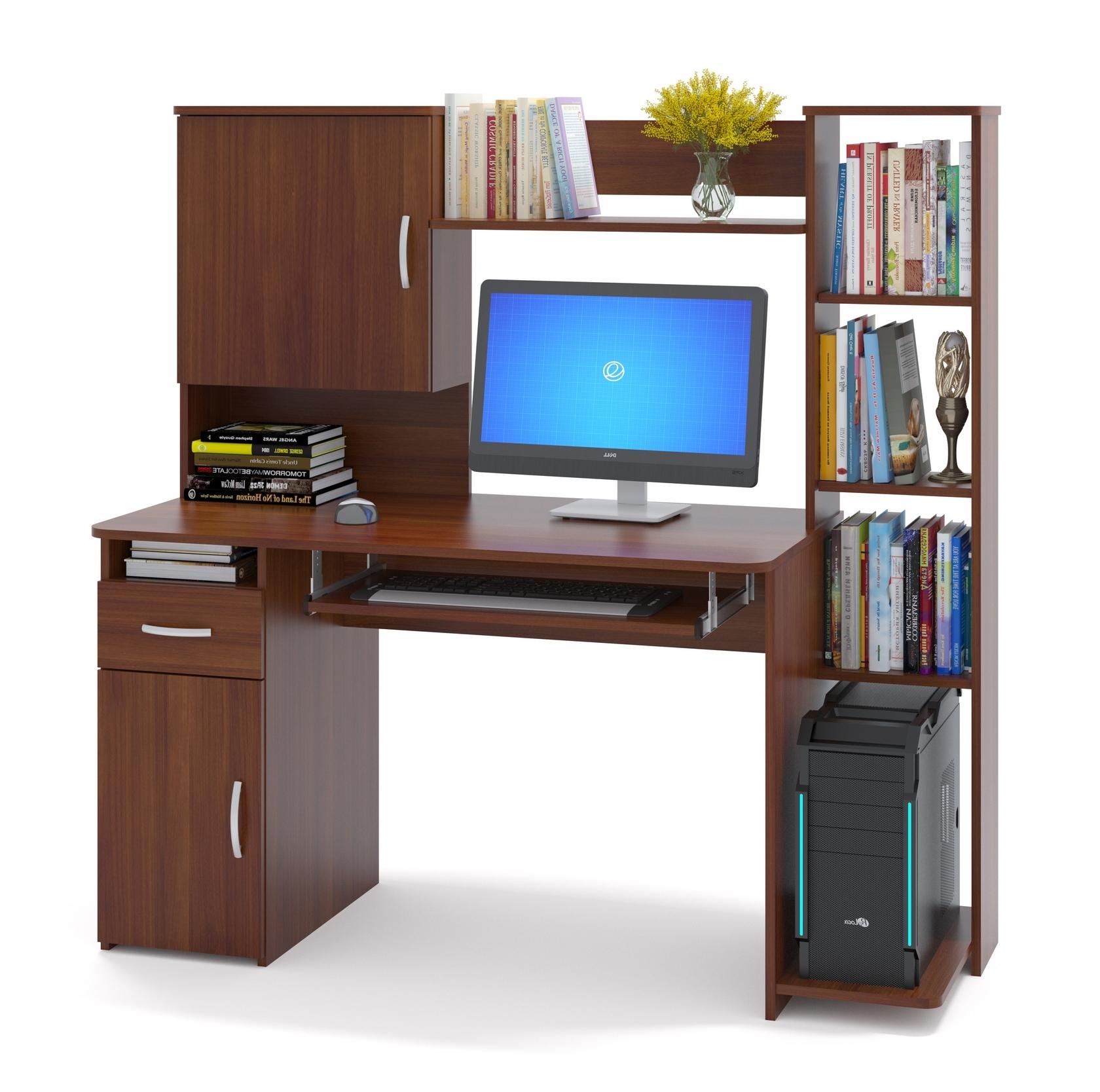 Компьютерный стол Сокол КСТ-11.1 Испанский орех от Купистол