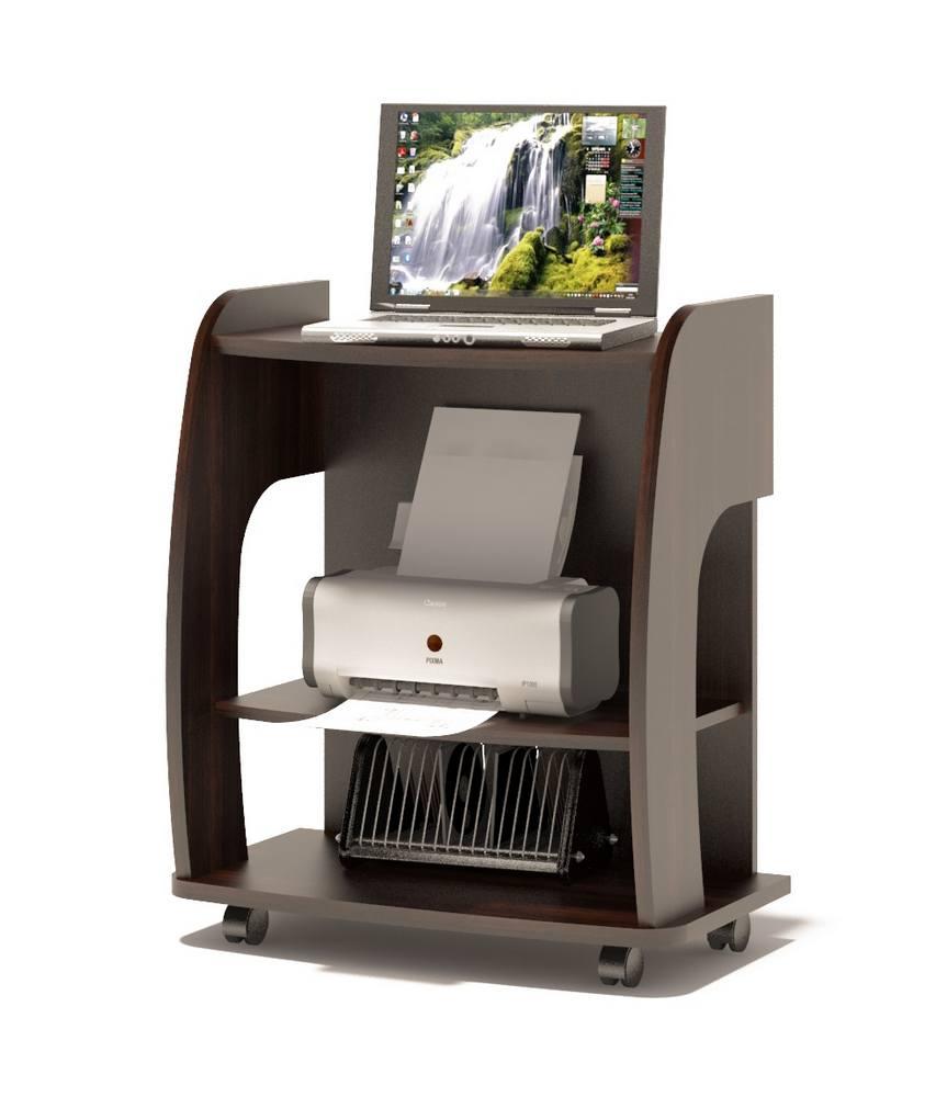 Компьютерный стол Сокол КСТ-103 компьютерный стол сокол кст 103 испанский орех