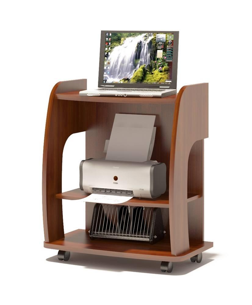 Компьютерный стол Сокол КСТ-103 Испанский орехКомпьютерные столы<br>Габаритные размеры ВхШхГ 800x700x390 мм. Компактные размеры компьютерного стола позволяют сэкономить место в доме или офисе.  Практичная и функциональная модель изготовлена из высококачественного ламинированного ДСП российского производства.  Столешница, основание и боковины выполнены из ЛДСП толщиной 22 мм, остальные детали — ЛДСП 16 мм. Стол оборудован колесными опорами, что позволяет с легкостью перемещать его при необходимости.  Под столешницей расположена полка, которая может устанавливаться согласно Вашим пожеланиям (как выдвижная под клавиатуру, либо в качестве подставки под принтер). Максимальная нагрузка на весь стол составляет 50 кг. Изделие поставляется в разобранном виде вместе с необходимой фурнитурой и подробной инструкцией для сборки.  Хорошо упаковано в гофротару.  Рекомендуем сохранить инструкцию по сборке (паспорт изделия) до истечения гарантийного срока.<br><br>Цвет: Испанский орех<br>Цвет: Красное дерево<br>Высота мм: 800<br>Ширина мм: 700<br>Глубина мм: 390<br>Кол-во упаковок: 1<br>Форма поставки: В разобранном виде<br>Срок гарантии: 2 года<br>Тип: Прямые<br>Материал: Деревянные, из ЛДСП<br>Размер: Маленькие, Шириной 70 см<br>Особенности: Без надстройки, На колесиках