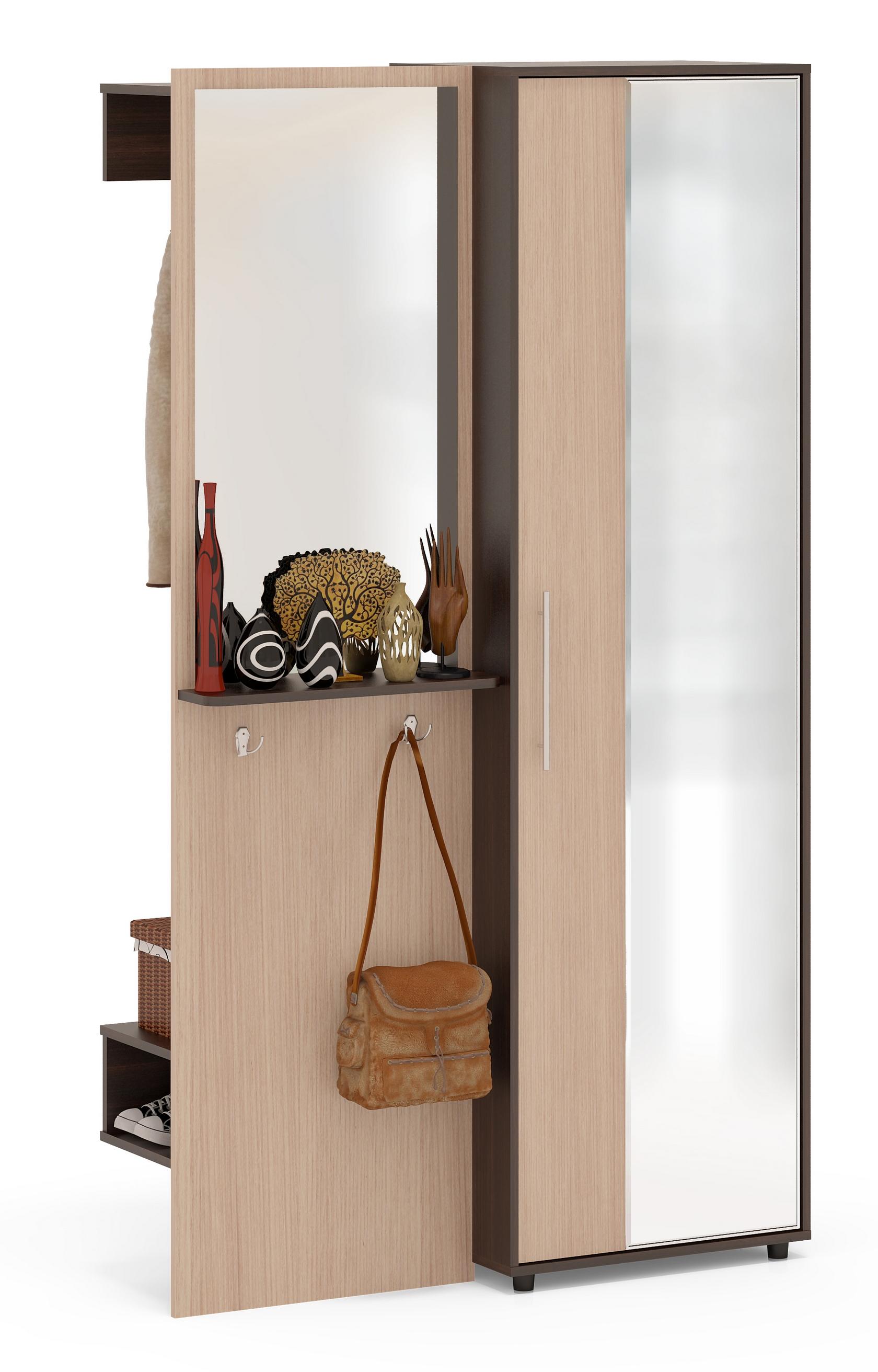 Прихожая Сокол ВШ-8 + ШО-2 шкаф для одежды сокол шо 1 испанский орех