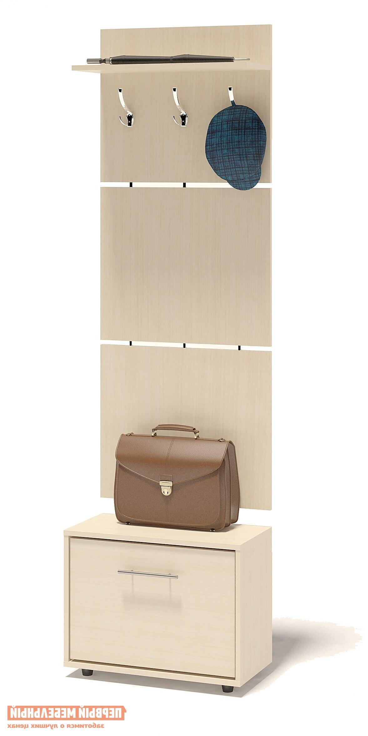 Прихожая Сокол ТП-1 + ВШ-5.1 Беленый дубПрихожие в коридор<br>Габаритные размеры ВхШхГ 1961x600x287 мм. Навесная вешалка, выполненная в современном стиле.  Позволит разместить сезонную одежду всей семьи.  Вешалка состоит из 3-х панелей соединенных металлическими вставками.  Полка, закрепленная над крючками для одежды, предназначена специально для головных уборов и зонтов.  Максимальная нагрузка на полку составляет 5кг.  Компактная тумба для обуви, шириной 600 мм.  Дверь оснащена откидывающимся механизмом со специальными полками для размещения обуви, который обеспечивает удобство хранения и легкий доступ к необходимой паре кроссовок или туфлей.  Изделие поставляется в разобранном виде.  Хорошо упаковано в гофротару вместе с необходимой фурнитурой для сборки и подробной инструкцией.   Изготовлена из высококачественной ДСП 16 мм.   Отделывается кромкой ПВХ 0. 4 мм.   Поставляется в разобранном виде.  Рекомендуем сохранить инструкцию по сборке (паспорт изделия) до истечения гарантийного срока.<br><br>Цвет: Светлое дерево<br>Высота мм: 1961<br>Ширина мм: 600<br>Глубина мм: 287<br>Кол-во упаковок: 2<br>Форма поставки: В разобранном виде<br>Срок гарантии: 2 года<br>Тип: Прямые<br>Характеристика: Модульные<br>Материал: ЛДСП<br>Размер: Маленькие<br>Размер: Узкие<br>Размер: Глубина до 30 см<br>Размер: Глубина до 35 см<br>С открытой вешалкой: Да<br>На ножках: Да<br>С обувницей: Да<br>Без шкафа: Да<br>Стиль: Современный