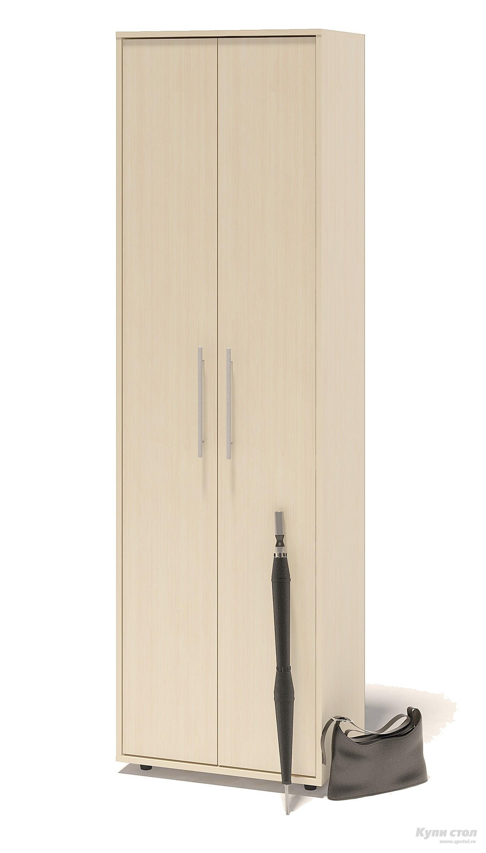 Шкаф распашной Сокол ШО-1 Корпус Венге / Фасад Беленый дубШкафы распашные<br>Габаритные размеры ВхШхГ 2087x600x429 мм. Шкаф для одежды, шириной 600 мм.  Шкаф оборудован двустворчатыми дверями.  Внутри шкафа расположены две полки и выдвижная вешалка.  Изделие поставляется в разобранном виде.  Хорошо упаковано в гофротару вместе с необходимой фурнитурой для сборки и подробной инструкцией.   Изготовлена из высококачественной ЛДСП 16мм  Отделывается кромкой ПВХ 0. 4мм Рекомендуем сохранить инструкцию по сборке (паспорт изделия) до истечения гарантийного срока.<br><br>Цвет: Темное-cветлое дерево<br>Высота мм: 2087<br>Ширина мм: 600<br>Глубина мм: 429<br>Кол-во упаковок: 1<br>Форма поставки: В разобранном виде<br>Срок гарантии: 2 года