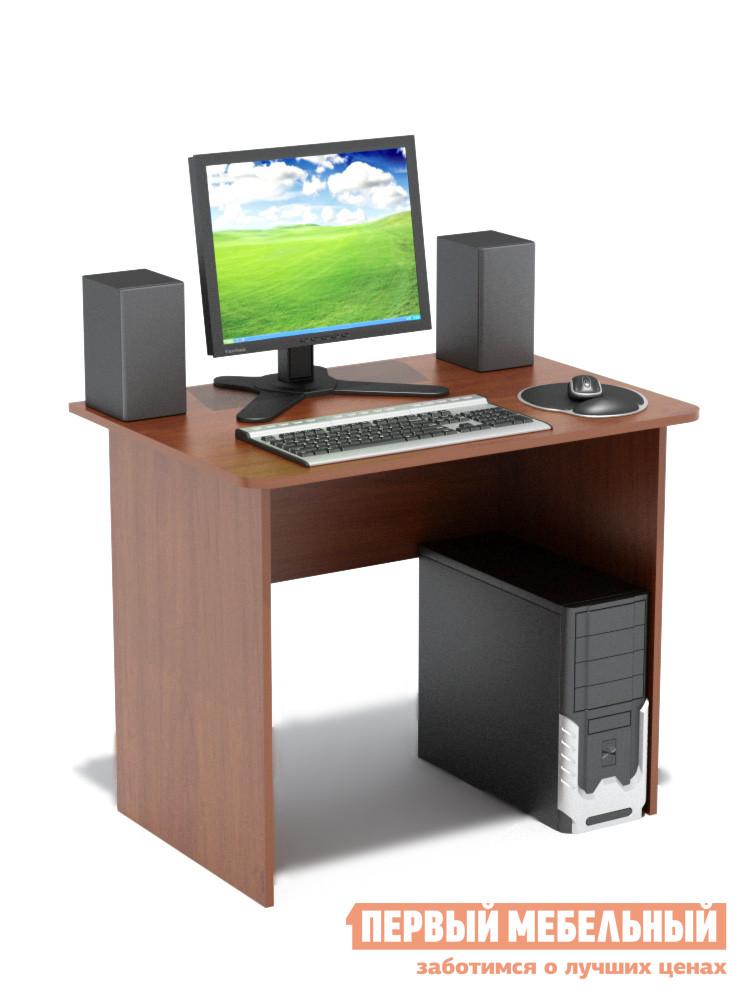 Письменный стол Сокол СПМ-01.1 Испанский орехПисьменные столы<br>Габаритные размеры ВхШхГ 740x900x600 мм. Компактный классический стол  шириной 900 мм прекрасно подойдет для работы как дома, так и в офисе.  Его небольшие размеры позволяют не только сэкономить пространство в помещении, но и организовать полноценное рабочее место.  Края столешницы скруглены, что немаловажно, особенно в комнате ребенка. Стол изготовлен из высококачественной ламинированной ДСП российского производства толщиной 16 мм, торцы деталей отделаны кромкой ПВХ 2 мм.  Изделие поставляется в разобранном виде.  Хорошо упаковано в гофротару вместе с необходимой фурнитурой и подробной инструкцией по сборке.  Рекомендуем сохранить инструкцию по сборке (паспорт изделия) до истечения гарантийного срока.<br><br>Цвет: Красное дерево<br>Высота мм: 740<br>Ширина мм: 900<br>Глубина мм: 600<br>Кол-во упаковок: 1<br>Форма поставки: В разобранном виде<br>Срок гарантии: 2 года<br>Тип: Прямые<br>Материал: Дерево<br>Материал: ЛДСП<br>Размер: Маленькие<br>Размер: Ширина 90 см<br>Без надстройки: Да<br>Стиль: Современный<br>Стиль: Модерн